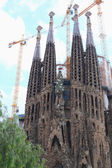 Sagrada Familia. The old facade. — Stock Photo
