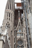 Sagrada Familia. The construction. — Stock Photo