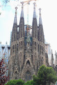 Sagrada Familia. The facade. — Stock Photo