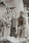 Sagrada Familia. Figures.. — Stock Photo