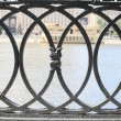 Iron fence. — Stock Photo