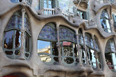 Barcelona. Gaudi. House. — Stock Photo