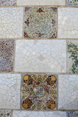 Gaudi. Mosaic. — Stock Photo