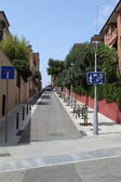 Street in Barcelona. — Stock Photo