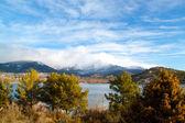 Bergslandskap från madrid, spanien. — Stockfoto