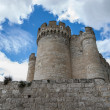 Stock Photo: Exterior from Penafiel Castle, Valladolid Spain