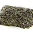 A roll of dried edible seaweed — Stock Photo