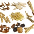 Assortment of Dried Chinese herbs — Stock Photo #28475283