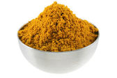 A bowl of spicy Curry Powder — Stock Photo