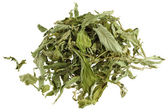 Dried Stevia leaves (sweet leaf, Sugar leaf) — Stock Photo