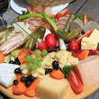 Austrian Cold cuts and cheese platter — Stock Photo #28692485