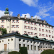 Schloss Ambras (Ambras Castle) in Innsbruck, Austria — Stock Photo
