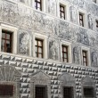 Grisaille (Grey Relief) - painting on the wall in Innsbruck, Austria — Stock Photo