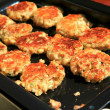 Stock Photo: Fried AustriKaaspressknoedel (Cheese Dumpling Patties)