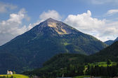 High Mountain View in Tirol Austria — Stock Photo