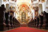 Durnstein Abbey (Stift Durnstein), Austria — Stockfoto