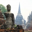 Stock Photo: Armless Buddha images in Ayutthaya, Thailand