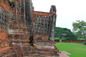Old and ruined temple in Ayutthaya, Thailand — Stock Photo