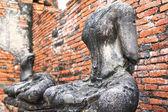 Headless Buddha images in Ayutthaya, Thailand — Stock Photo