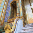 Marble stairs at the Grand Palace, Bangkok, Thailand — Stock Photo
