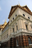 Grand Palace Chakri Mahaprasad Hall side view, Bangkok, Thailand — Stock Photo