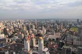 The City of Bangkok skyline, Thailand — Stock Photo