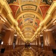 Beautiful painting on the ceiling at the Venetian Hotel, Macao — Stock Photo