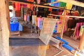 Silk Weaving Village in Luang Prabang, Laos — Stock Photo