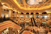 Inside the Venetian Hotel and Casino resort complex, Macao — Stock Photo