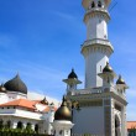Masjid Kapitan Keling Mosque, Penang Island, Malaysia — Stock Photo #28850819