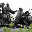Statues of Chinese Immortal Wizards — Stock Photo #28883991