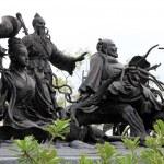 Постер, плакат: Statues of Chinese Immortal Wizards