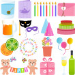 Cute Party Element — Stock Vector