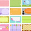 A Cute Collection of Vector Label — Stock Vector