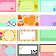 A Cute Collection of Vector Label — Stock Vector #28967509