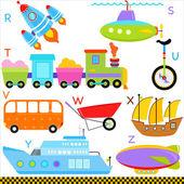 Car, Vehicles, Transportation — Stock Vector