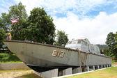 Tsunami Police Boat 813 (Buretpadungkit) — Stock Photo