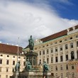 Statue of Francis II, Holy Roman Emperor — Stock Photo