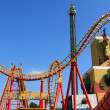 Boomerang - A Roller coaste at Wiener Prater — Stock Photo