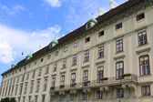The Leopoldine Wing of the Hofburg Imperial Palace — Stock Photo