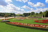 Garden and the Gloriette at Schloss Schoenbrunn Palace — Stock Photo