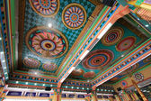 Ceiling of the Main Prayer Hall at Sri Mahamariamman Indian Temple — Stock Photo