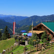 Stock Photo: Zohreralm, Restaurant at 1334M.