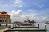 The Malaysia s first inner city marina — 图库照片