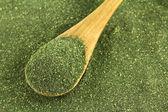 Japanese green tea powder, Matcha Tea — Stock Photo