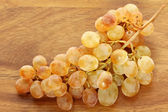 Golden yellow White wine Grapes — Stock Photo