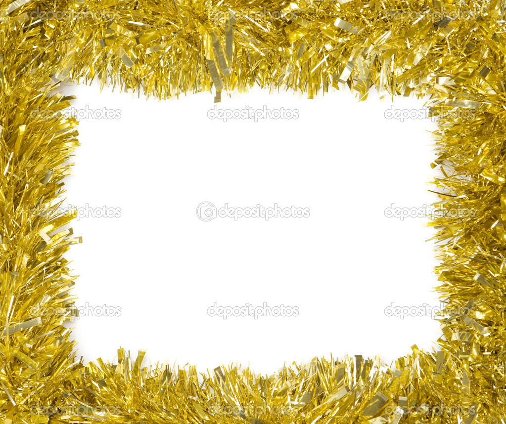 Christmas decoration frame with empty space for text — Stock Photo #13929108