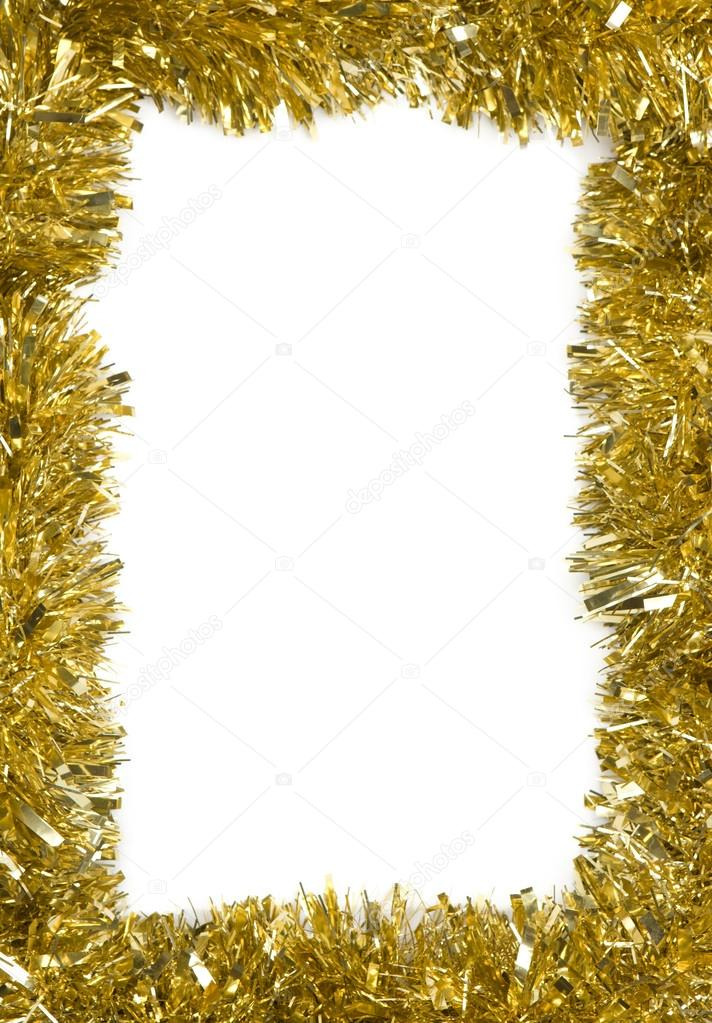 Christmas decoration frame with empty space for text — Stock Photo #13929129