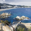 Spanish seaside at daylight in summer — Stockfoto