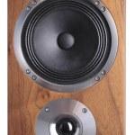 Wooden speaker — Stock Photo #35728711